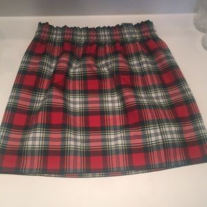 J Crew Holiday Skirt